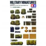 Tamiya Military Miniature - 1/35 - U.S. Modern Military Equipment Set