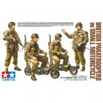 Tamiya Military Miniature Series No.337 - 1/35 - British Paratroopers w/Small Motorcycle