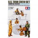Tamiya Military Miniature Series No.347 - 1/35 - U.S. Tank Crew Set - European Theatre