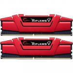G.SKILL Ripjaws V Series 16GB (2 x 8GB) DDR4 2400Mhz CL15 1.2v Desktop Memory   Model F4-2400C15D-16GVR 15-15-15-35