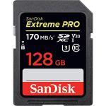 SanDisk Extreme Pro 128GB SDXC 170MB/s read, 90MB/s Write . UHS-I, U3, V30,Ultra High Speed SD Card
