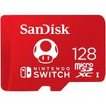 SanDisk For Nintendo MicroSD 128GB Up to 100MB/s Read, 90MB/s Write,  MicroSDXC, C10, U3. Perfect for Nintendo Switch / Switch Lite and other MicroSD compatiables Devices