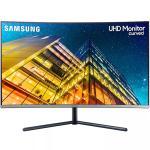 """Samsung U32R590 32"""" Curved UHD 4k Monitor , 3840X2160"""