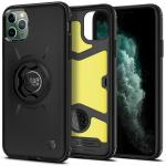 Spigen Gearlock iPhone 11 Pro Max Bike Mount Protective Case - Black,Durable build with extreme impact foam Built-in mounting system for extra security, Built-in mounting system for extra security, ACS00277