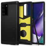 """Spigen Galaxy Note 20 Ultra (6.9"""") Tough Armor Case Black, DROP-TESTED MILITARY GRADE,HEAVY DUTY, 3-Layer Extreme Protection, Air Cushion Technology,Dual Layer Protection, ACS01396"""