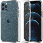 Spigen iPhone 12/12 Pro (6.1'') Liquid Crystal Glitte Caser - Crystal Quartz, All around Glitter, Responsive Clicks, Lightweight, Slim Profile