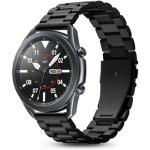 Spigen 22mm Premium Stainless Steel Strap - Black,Premium Quality, Sleek & Stylish, Effortless Adjustments, Compatible with Samsung Galaxy Watch 3 45mm/ Watch 46mm/Gear S3, Huawei Watch GT 2/2e 46mm