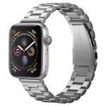 Spigen Apple Watch 44mm/42mm Premium Stainless Steel Strap - Silver, Premium Quality, Sleek & Stylish, Effortless Adjustments, Designed for Apple Watch 44mm Series 4 and 42mm Series 3/2/1/Original