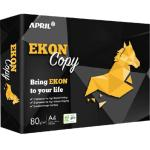 APRIL EKON Premium Quality Office Printer Paper A4 - 80gsm White 210x297mm 500 Sheets per Ream A grade Multipurpose Laser, Copier, Inkjet, 150CIE Whiteness Price for per Ream (5reams/box) by PaperOne