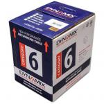 Dynamix C-C6-SLDWHITE 305m Cat6 White UTP SOLID Cable Roll, 250MHz, 23AWGx4P, PVC Jacket. Supplied on Plastic Reel in Box