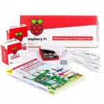 Raspberry Pi 4 Model B 2GB Beginner Desktop Kit Official White and Red Package with RPI Keyboard and Mouse, Comes with Beginners Guide