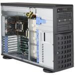 "Supermicro 7049P-TRT Barebone, 2x LGA3647, 16 DIMM, 8x 3.5"" Hot-Swap, 2x 10G RJ-45, 2x 1280W Redundant Power Supplies"