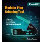 ProsKit CP-333 Modular Plug Network Crimping Tool 6P 8P RJ45 RJ11 RJ12 Cat5e Cat6