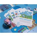 Sphero Education STEM Code Mat + Activity Card Set, Perfect for educators, students, and parents. Comes with Two-sided Sphero Code Mat adn Activity Cards