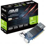 ASUS GeForce GT710 2GB GDDR5 Graphics Card, Clock Speed 954Mhz  , Single Slot ,  Silent , VGA+DVI+HDMI , 167MM Length, Low Profile support , Max 3 Displays