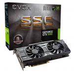 EVGA GeForce GTX1060 Graphics Card 6GB GDDR5 SSC Gaming Version , ACX 3.0 & LED ,  DVI+HDMI+ 3xDisplay Port,