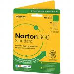 NortonLifeLock OEM Norton 360 Standard 10GB 1D 12M DVD Channel - System Builder w/Bonus 60 days Offer to the subscription 15/4-31/12/2020 claimable via online redemption