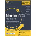 NortonLifeLock NORTON 360 PREMIUM 100GB 5D 12M DVD Channel NORTON 360 antivirus, plus a VPN, a password manager and more.An all-in-one powerful solution